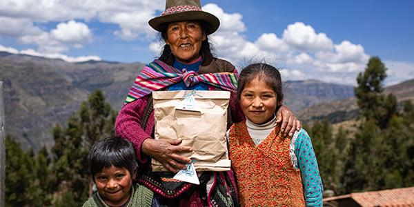 donaciones a familias peruanas