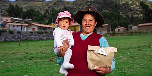 donaciones para familias en perú
