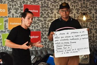 Taller Trata Persona Personas Peru Venezonlano Peruano