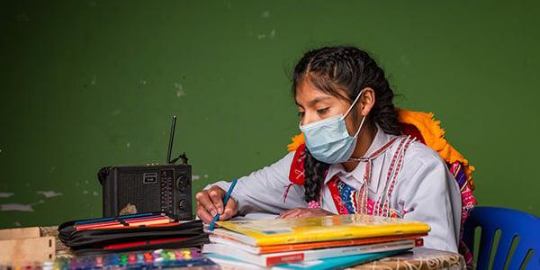 donaciones por la educación