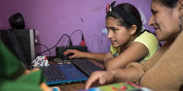 educación virtual en perú