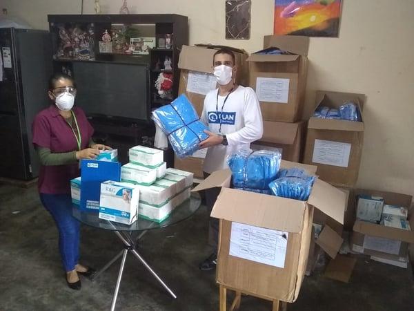 Donacion Plan International Loreto Mascarillas Mandiles