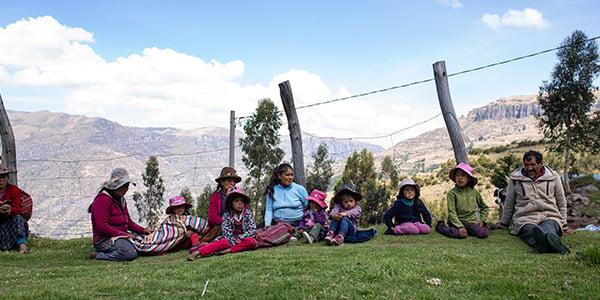 familias peruanas