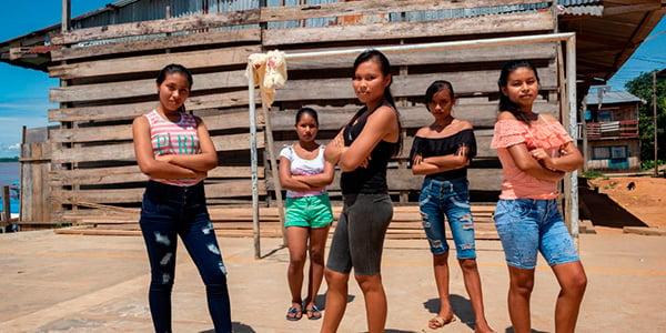 niñas vulnerables en perú